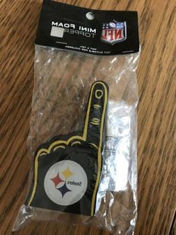 Pittsburgh Steelers NFL Mini Foam Finger Antenna Topper Or O