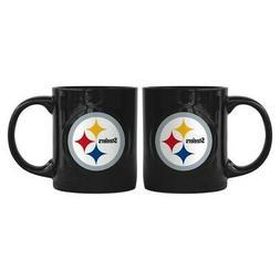 Pittsburgh Steelers Boelter NFL Rally Coffee Mug 11oz FREE S
