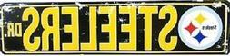 pittsburgh steelers nfl steelers drive distressed metal