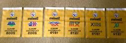 PIttsburgh Steelers NFL Super Bowl Champions 6 Banners/Flags
