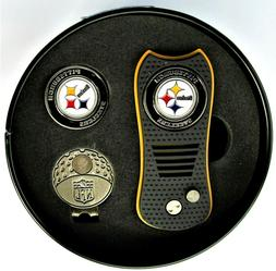 Pittsburgh Steelers NFL Switchblade Divot Tool & Ball Marker