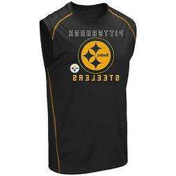 Pittsburgh Steelers NFL Majestic Team Apparel Muscle T-Shirt