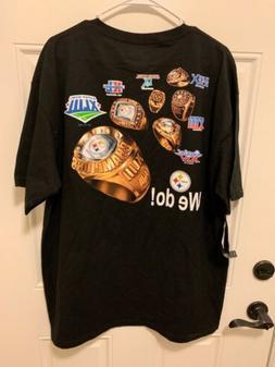 Pittsburgh Steelers NFL Team Apparel Super Bowl T Shirt XL N