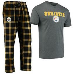 Pittsburgh Steelers Pajamas Troupe Shirt And Pants Sleepwear