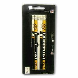 pittsburgh steelers pkg of 5 2 pencils