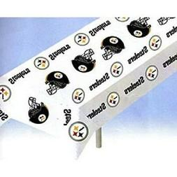 Pittsburgh Steelers Plastic 2-Pack Table Cover