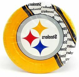 Pittsburgh Steelers Plates 20 count Paper Party Supplies Tai