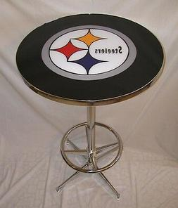 Pittsburgh Steelers Pub Table Brand New