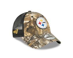 Pittsburgh Steelers New Era Realtree Trucker Mesh 9Forty Adj