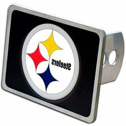 Pittsburgh Steelers Rectangle Logo Trailer Hitch Cover ~ New