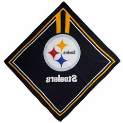 Pittsburgh Steelers Scarf, Bandana, Durag or Table Cloth for