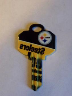 Pittsburgh Steelers Schlage SC1 House key blank
