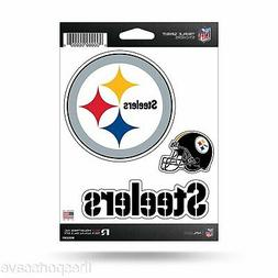 Pittsburgh Steelers Set of 3 Die Cut Decals Stickers Triple