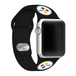 Pittsburgh Steelers Silicone Sport Band Compatible With The