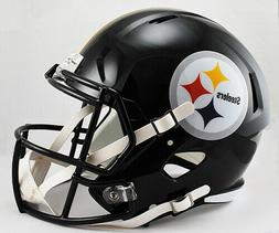 RIDDELL PITTSBURGH STEELERS SPEED FULL SIZE DELUXE REPLICA F