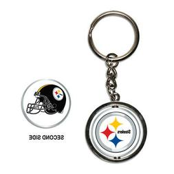 Pittsburgh Steelers Spinner Keychain NFL New