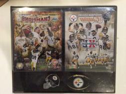 Pittsburgh Steelers SUPER BOWL Champions XL & XLIII Photos P
