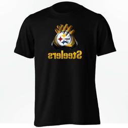 Pittsburgh Steelers T-Shirt - Ben Roethlisberger NFL Gloves