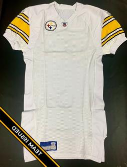 Pittsburgh Steelers Team Issued Reebok Away Jersey Uniform B