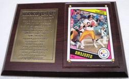 Pittsburgh Steelers Terry Bradshaw Football Card Plaque