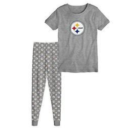 "Pittsburgh Steelers Toddler NFL ""Playoff Game"" Pajama T-shir"