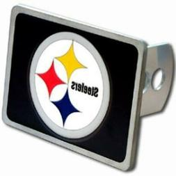 Pittsburgh Steelers Trailer Hitch Cover  NFL 3D Metal Truck