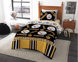 Pittsburgh Steelers NFL Twin Comforter & Sheet Set