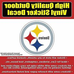 Pittsburgh Steelers Vinyl Car Window Laptop Bumper Sticker D