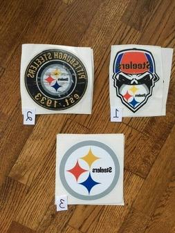 Pittsburgh Steelers vinyl decal/sticker for car/truck/boat/w