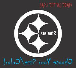Pittsburgh Steelers Football Vinyl Decal Sticker for NFL Car