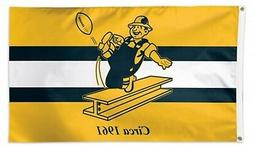 Pittsburgh Steelers WC RETRO Throwback Premium 3x5 Flag Outd