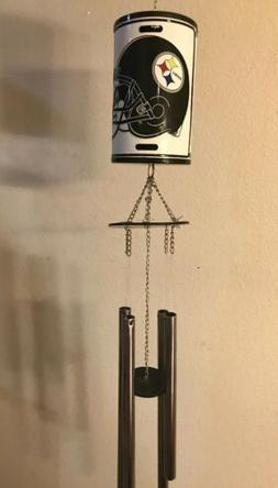 pittsburgh steelers wind chime nfl brand new