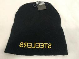 """Pittsburgh Steelers"" Eros Winter Hat Black Knit Hat, NWT"
