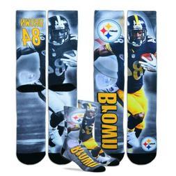 * Pittsburgh Steelers Youth Size Kids Crew Socks  - Antonio