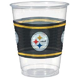 plastic cups - pittsburgh steelers