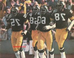 Steel Curtain Pittsburgh Steelers 8 x 10 Glossy Photo