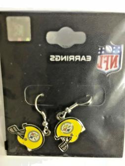 Steelers Earrings  Jewelry Choose: Helmet, Construction Hat,