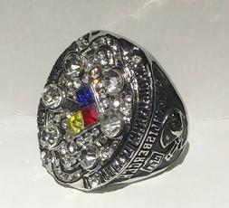 Steelers ROETHLISBERGER Championship Collector ring-Size 11