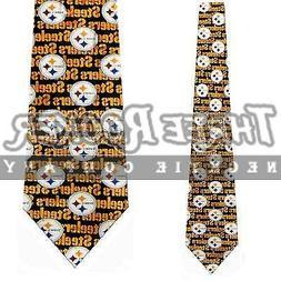 Steelers Silk Tie Pittsburgh Steelers Neckties NWT Licensed