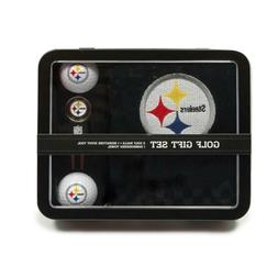 Team Golf NFL  Steelers Golf Gift Set:  Towel, Golf Balls &