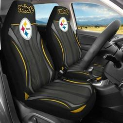 US KY Pittsburgh Steelers Car Seat Cover Universal Fit Auto
