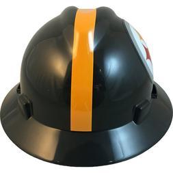 MSA V-Gard FULL BRIM PITTSBURGH STEELERS NFL Hard Hat Type 3