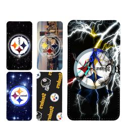 wallet case Pittsburgh Steelers iphone 7 iphone 6 6+ 5 7 X X
