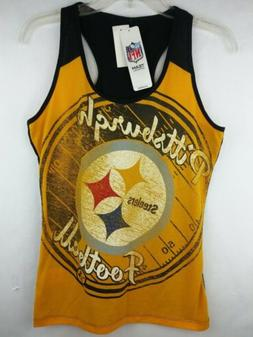 NFL Team Apparel Women's M Pittsburgh Steelers Football Yell