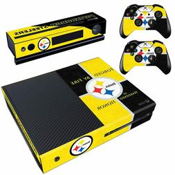 Xbox One Console Skin Pittsburgh Steelers Vinyl Decals 2 Con